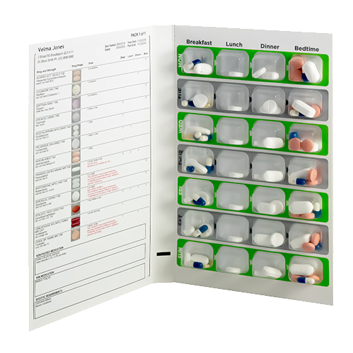 Image of Med Adherence packaging.